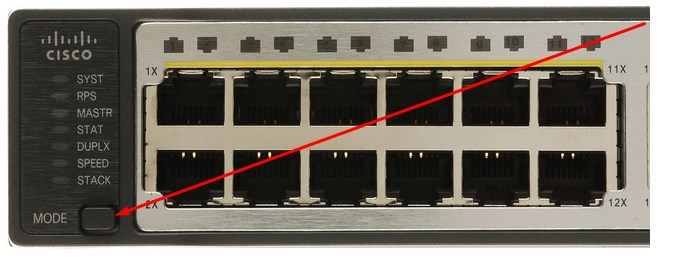 Access an unconfigured Cisco 3750 Switch without Console
