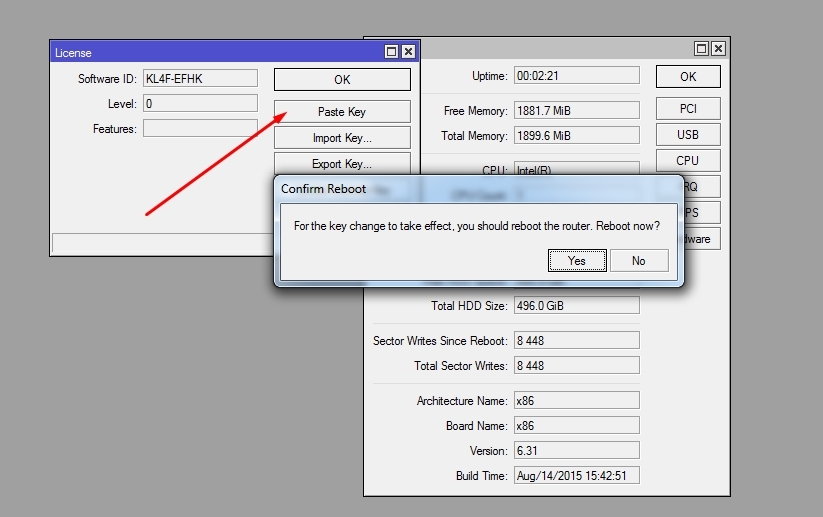 How to run Mikrotik 64 bit RouterOS on your PC - Srijit